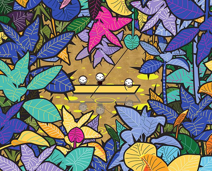 Beauty in Thorns-the golden world.jpg