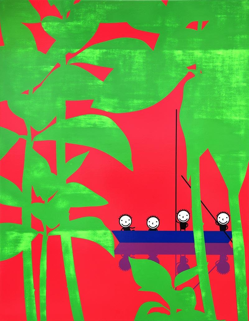 Study of scratch_90.9x116.7cm_acrylic on canvas on board_2018.jpg